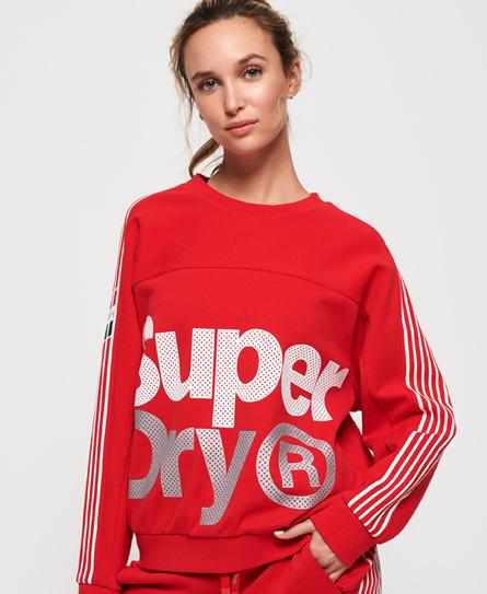 Superdry Superdry Kort Athletico sweatshirt med rund hals