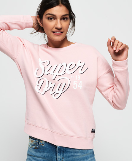 Superdry Superdry Yasmine sweatshirt med rund hals