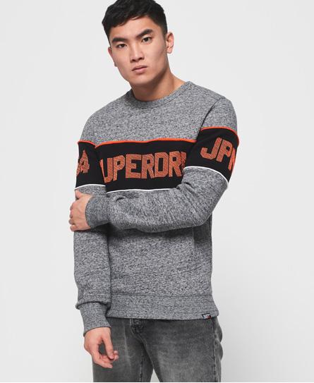 Superdry Superdry Retro sweatshirt med stribedesign