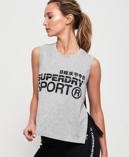 Superdry Superdry Løs Active top uden ærmer