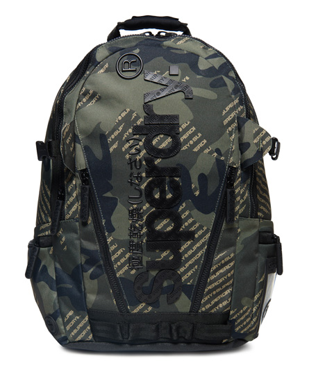 Superdry - Camo Logo Tarp Backpack - 1