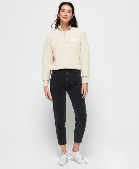 Superdry Schmal geschnittene Ruby Jeans | Bekleidung > Jeans | Schwarz | Material: baumwolle 100%| | Superdry