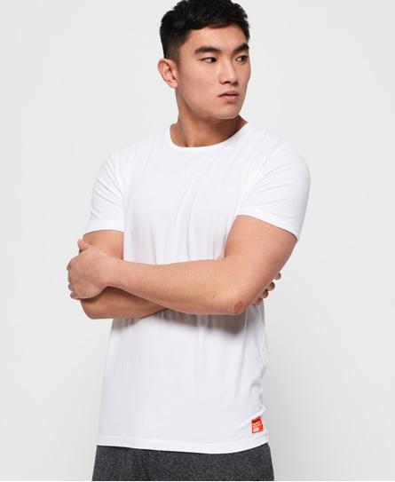 Superdry Superdry SD Laundry slimfit T-shirt i økologisk bomuld, 2-pak