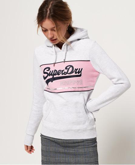 Superdry Superdry Blokfarvet Vintage Logo hættetrøje