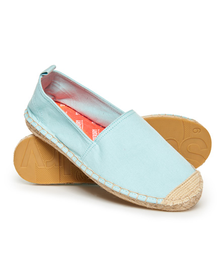 Superdry Erin Espadrilles | Schuhe > Espadrilles | Blau | Obermaterial: baumwolle 70%|polyester 30%| innenfutter: baumwolle 70%|polyester 30%| sohle: gummi 100%| | Superdry