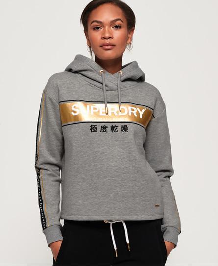 Superdry Superdry Kort Alice hættetrøje