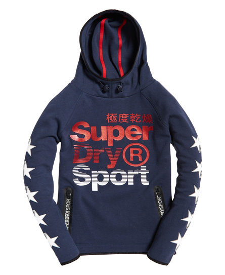 50% Sale Superdry Gym Tech Superstars Hoodie |