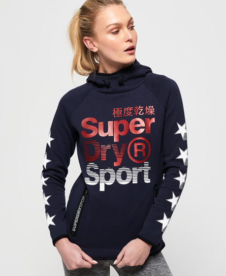 Superdry Superdry Gym Tech Superstars hættetrøje