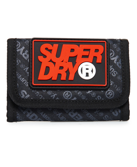 Superdry S Boy Brieftasche | Accessoires > Portemonnaies > Brieftaschen | Dunkelgrau | Material: polyester 100%| | Superdry