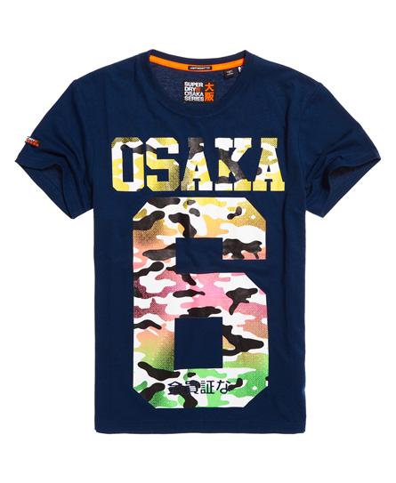 Superdry Superdry Let Osaka T-shirt med gennemgående print