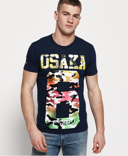 Superdry Herren Active T-Shirt Mit Durchgehendem Print