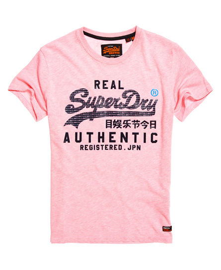 Superdry Superdry Pastelfarvet Vintage Authentic T-shirt