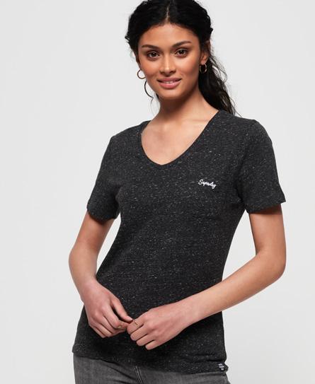 Superdry Superdry Essential T-shirt med V-udskæring fra Orange Label serien