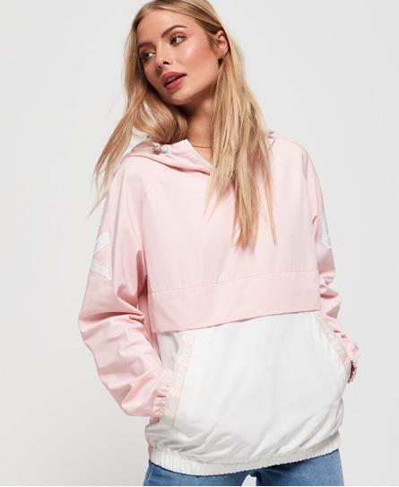 Superdry Jacke zum Überziehen mit Farbblock-Design   Bekleidung > Jacken > Sonstige Jacken   Pink   Obermaterial: polyester 100%    Superdry