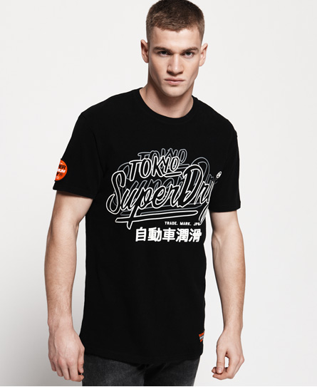 Superdry Superdry Reactive T-shirt med klassisk firkantet snit