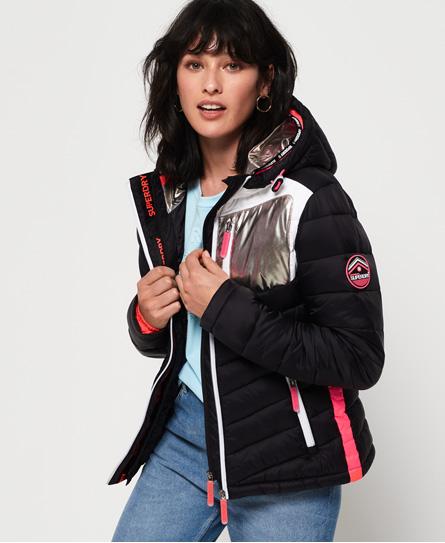 ebd010a59 Superdry Superdry Chrome Fuji jakke med hætte - Jakker - Tøj til ...