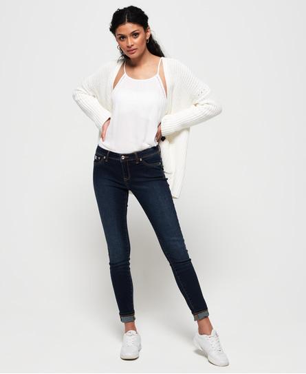Superdry Alexia Jeggings | Bekleidung > Jeans > Jeggings | Rinse blau | Obermaterial: baumwolle 91%|polyester 8%|elastan 1%| | Superdry