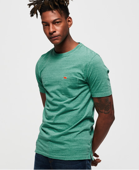 Superdry Superdry Kortærmet Dry Originals T-shirt med lomme