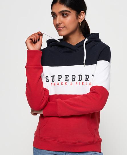 Superdry Superdry Blokfarvet Track & Field hættetrøje