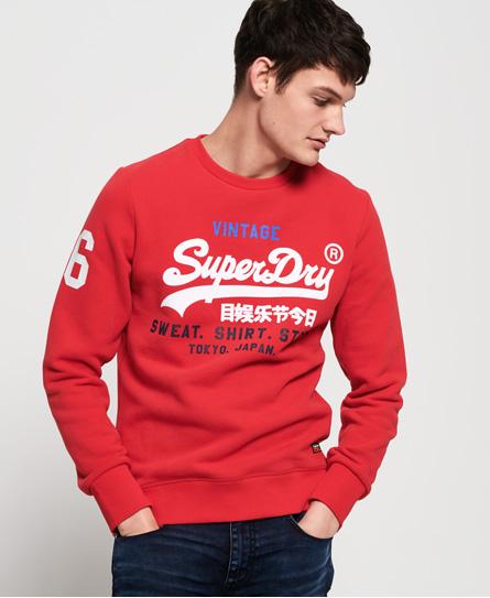 Superdry Superdry Sweat Shirt Store sweatshirt med rund hals