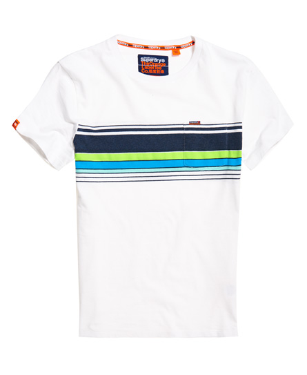 Superdry Cali T-Shirt mit Brusttasche