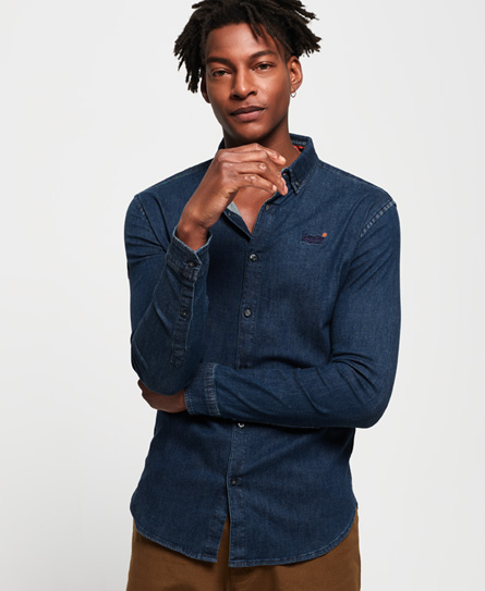 Superdry Superdry Tailored Slim Loom skjorte