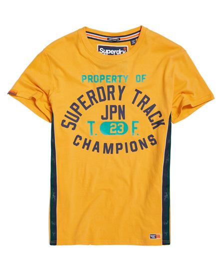 Superdry Superdry Let Track & Field T-shirt med logobånd