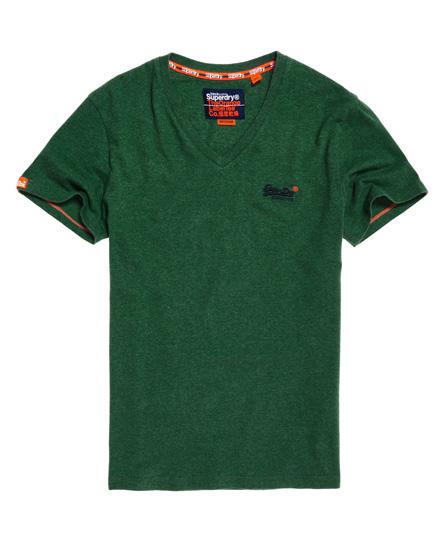 Superdry Vintage T-Shirt mit Stickerei aus der Orange Label Kollektion