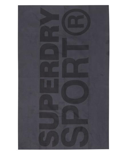Superdry Sport Handtuch aus Mikrofaser