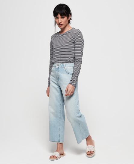 Superdry Phoebe jeans met wijde pijpen