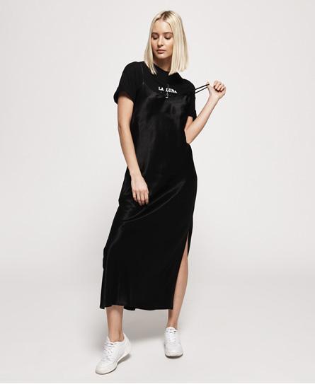 Superdry Bianca Slip jurk zwart