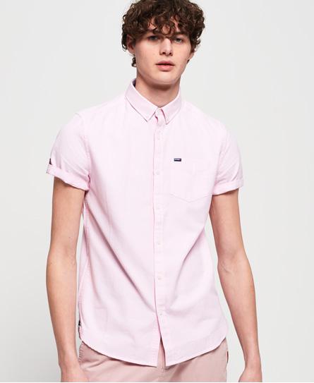 Superdry Superdry Premium University oxford-skjorte med korte ærmer