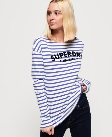 Superdry Superdry Langærmet Havana top