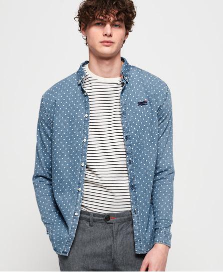 Superdry Superdry Tailored Slim Loom skjorte