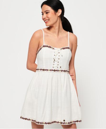 Superdry Tamara Boutique jurk wit
