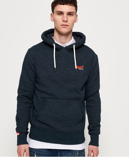 Superdry Superdry Klassisk Orange Label hættetrøje
