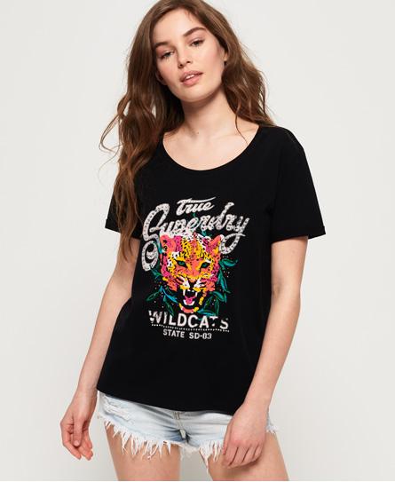 Superdry Superdry Hadley T-shirt med grafik