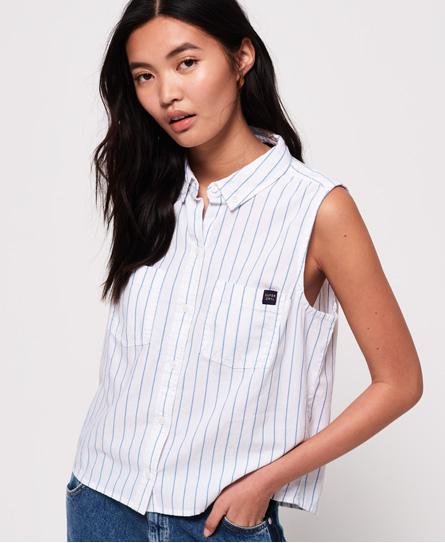 Superdry Superdry Makayla skjorte med stribedesign