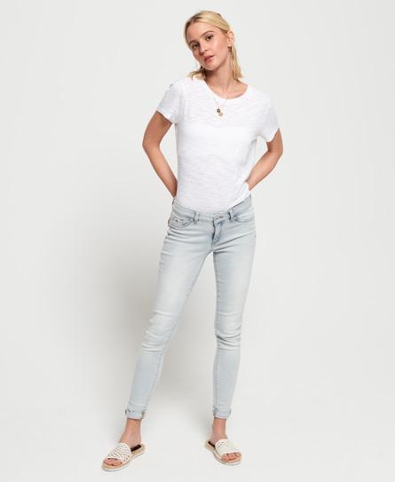 Superdry Alexia Jeggings | Bekleidung > Jeans > Jeggings | Blau | Material: baumwolle 98%|elastan 2%| | Superdry