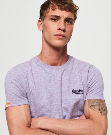 Superdry - T-shirt Vintage en coton bio Orange Label - 1