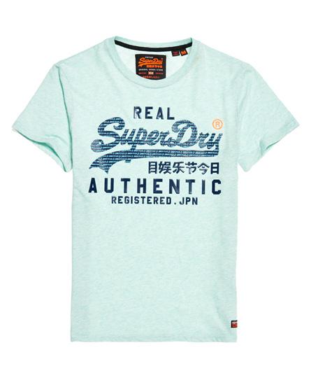 Superdry Superdry Pastelfarvet Vintage Authentic T-shirt