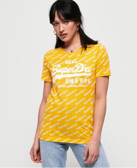 Superdry Superdry Vintage Logo Sport T-shirt med gennemgående print