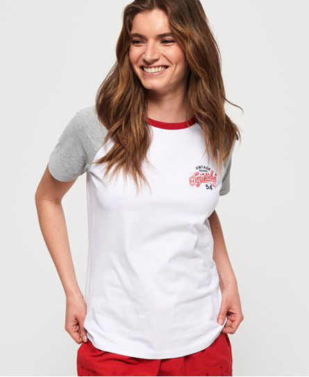 Superdry Superdry 54 Goods T-shirt med raglanærmer