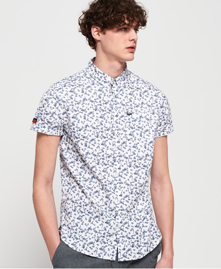 Superdry Superdry Kortærmet Premium Shoreditch skjorte