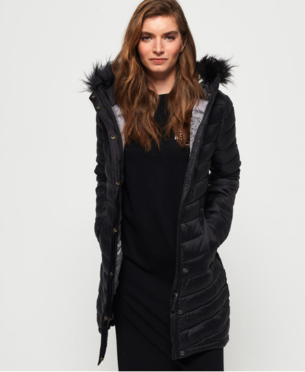 Superdry - Chevron Fur Super Fuji Jacket - 1