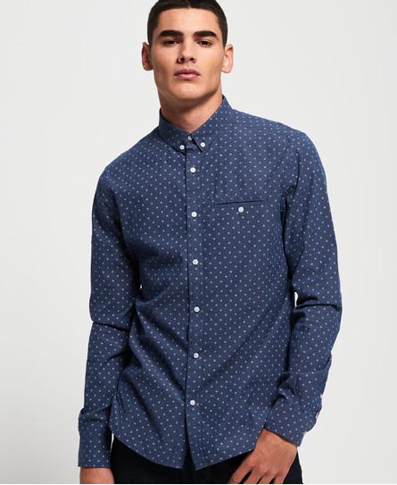 Superdry Superdry Langærmet Premium University skjorte