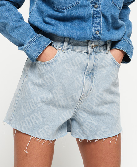 Superdry Superdry Ruby cut off-shorts