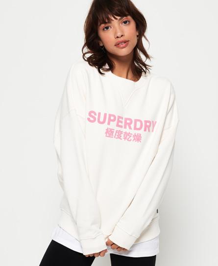 Superdry Superdry Freya sweatshirt med rund hals