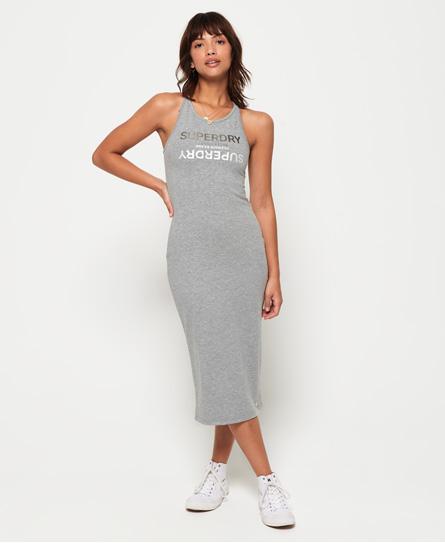 Superdry Superdry Alex midi-kjole