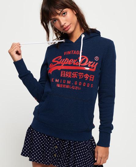Superdry Superdry Premium Goods hættetrøje med glansfuldt design